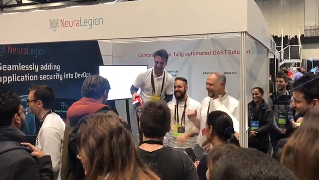 Announcing the first prize winner of our raffle at BHEU